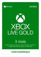Carte Xbox Live 3 Mois